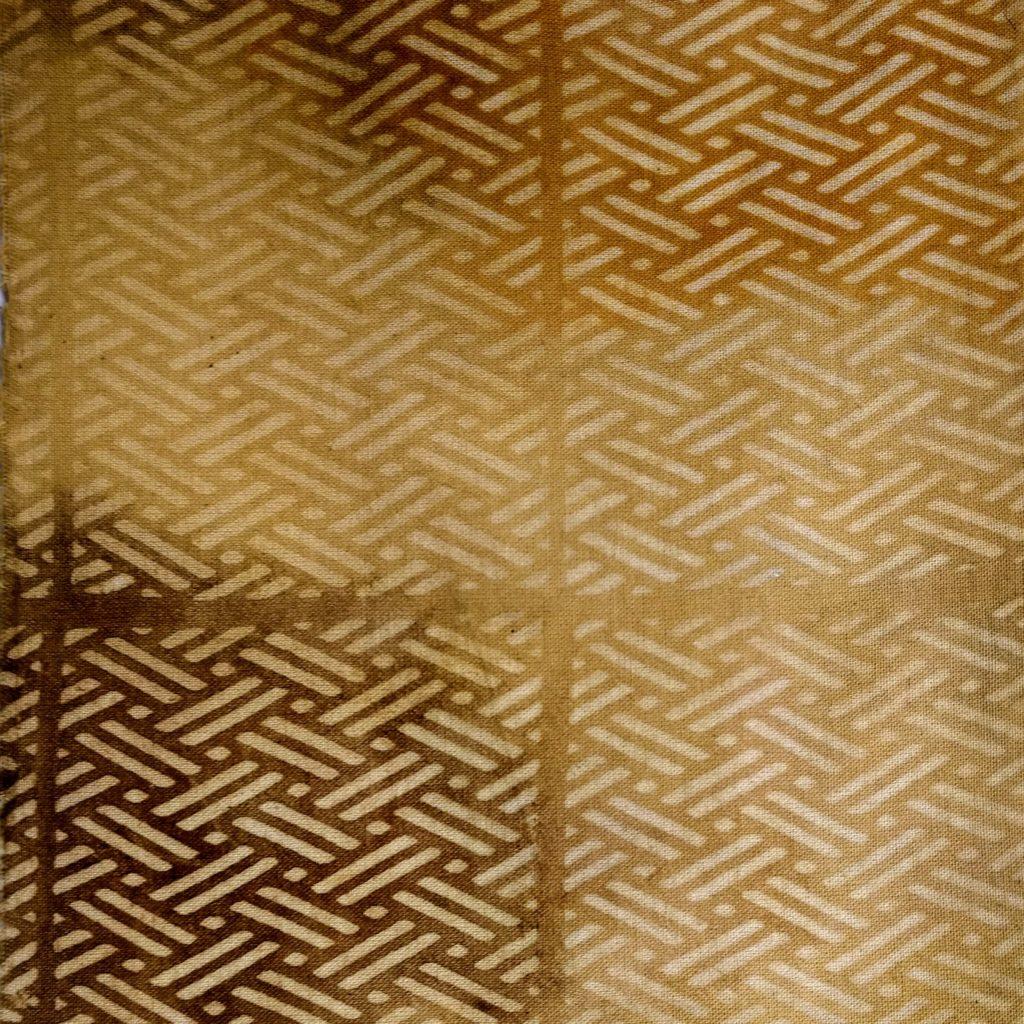 Katazome con pinturas naturales de nogal, ciruelo, cebolla, mate