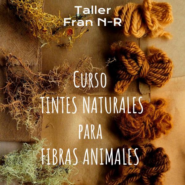 Detalle Manual curso Tintes naturales fibras animales